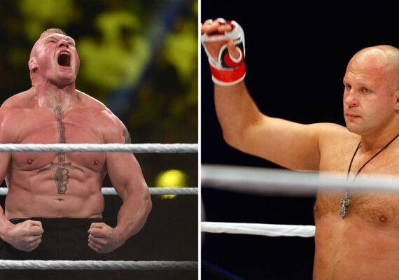 ¿Una pelea de ensueño a la vista? Lesnar y Emeliánenko podrían enfrentarse en un combate de MMA
