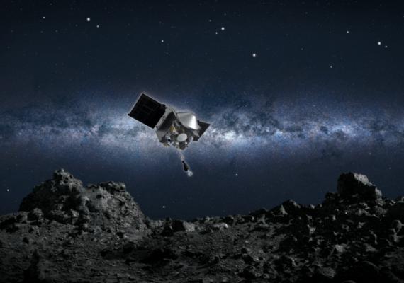 Una sonda de la NASA tomará muestras de la superficie del asteroide Bennu por primera vez