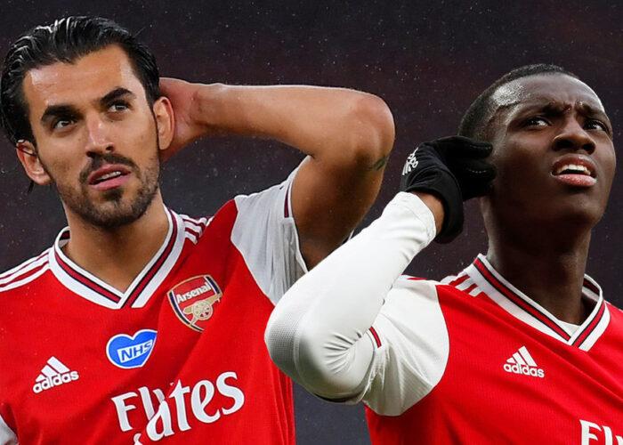 VIDEO: Dani Ceballos y Eddie Nketiah, a empujones durante entrenamiento previo al partido del Arsenal