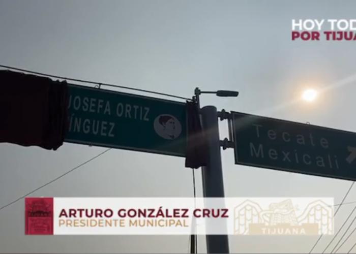El bulevar «El Refugio» ahora se llamará «Josefa Ortiz de Domínguez»