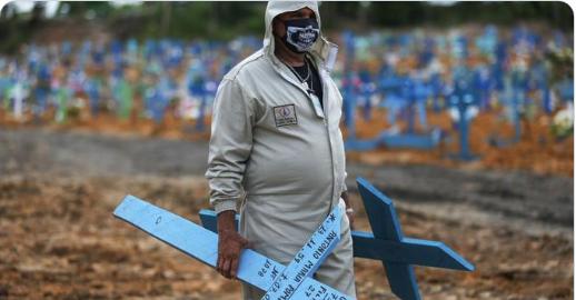 Millón de muertos por pandemia