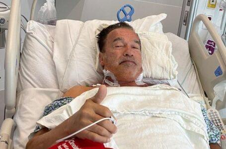 Arnold Schwarzenegger revela que se sometió a otra cirugía cardiaca