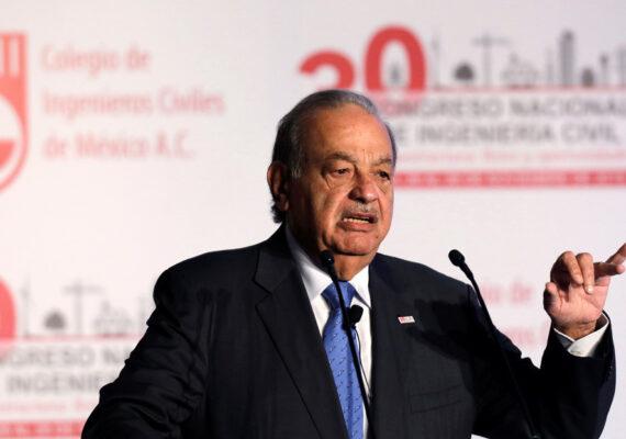 """Carlos Slim propone elevar la edad de jubilación a 75 años y trabajar tres días a la semana durante 11 horas """"para abrir espacio a otras personas"""""""