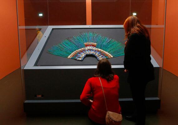 Museo de Viena niega el préstamo del penacho de Moctezuma que solicitó México para conmemorar el bicentenario de su Independencia