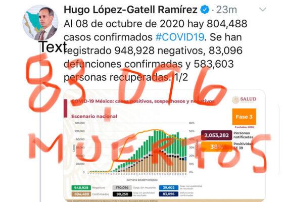 Una académica 'corrige' al subsecretario de Salud de México con los mismos datos que había dado el funcionario y la red estalla
