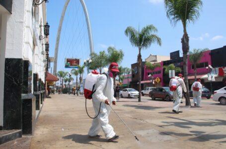 Ayuntamiento ha desinfectado un millón de metros cuadrados