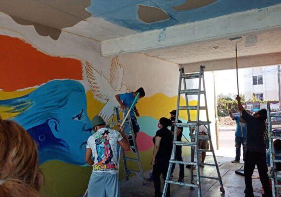 En medio de la pandemia, el arte florece en Tijuana