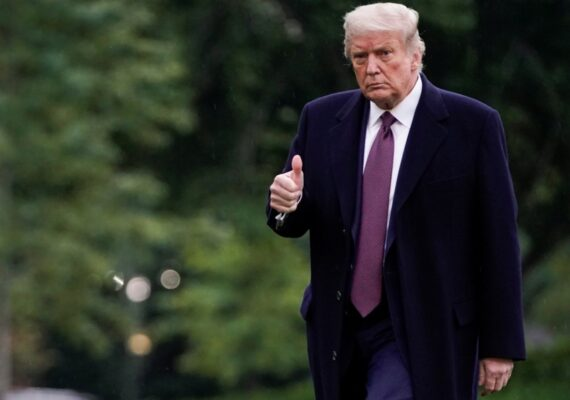 Obesidad, colesterol y la edad, los factores de riesgo de Trump por Covid-19