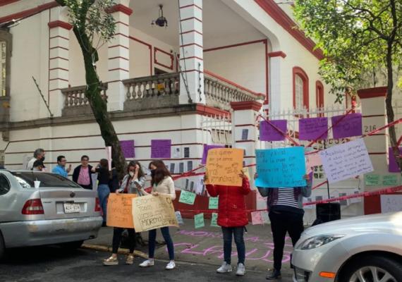 Porfirio iba a tomar protesta como «presidente legítimo de Morena»; se lo impidieron