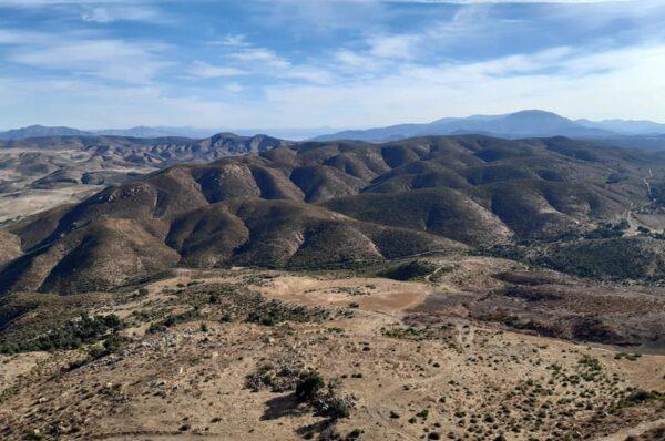 Seis lugares para practicar el senderismo en Baja California