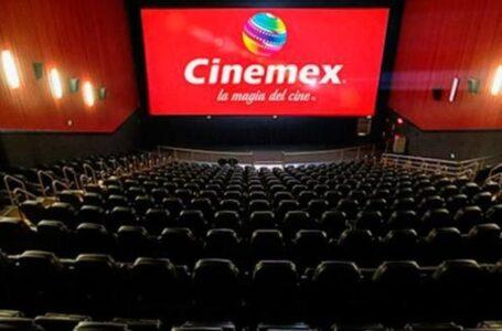 Cinemex ya renta sus salas
