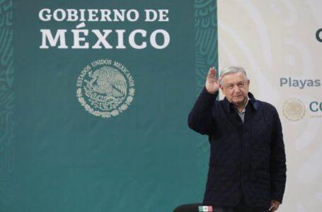 Concluye AMLO en Tijuana su visita en Baja California