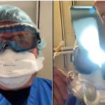(VÍDEO) Médico simula en vídeo intubación por Covid-19