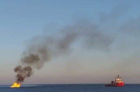 Se registra fuga de petróleo en el Golfo de México