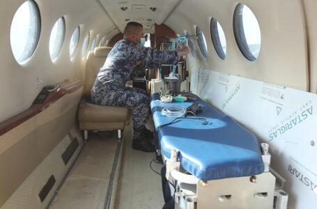 Habilita Sedena aviones militares como ambulancias por Covid