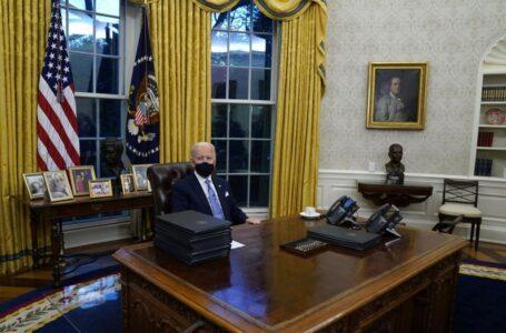 Las acciones de Joe Biden tras asumir su cargo