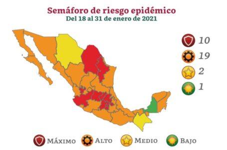 Baja California regresa a color naranja en Semáforo Epidemiológico