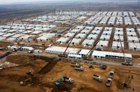 Crean campos de cuarentena en China