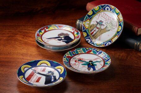 Celebra los 50 años de Lupin III con esta colección de platos para salsa de soja