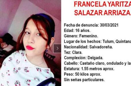 La Fiscalía de México activa una alerta Ámber para localizar a la hija desaparecida de Victoria Salazar, la salvadoreña asesinada por policías
