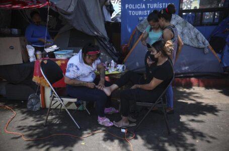 DDHH México: hay migrantes detenidos entre basura y ratas