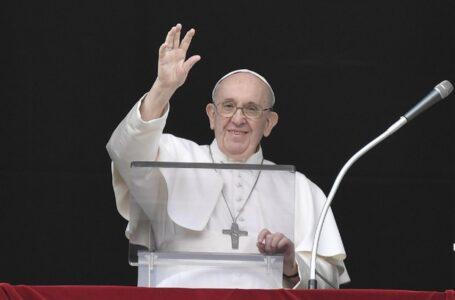 Papa Francisco: ¡Ánimo! Da lo poco que tienes, si compartes, Dios multiplica