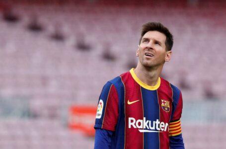 Lionel Messi deja el Barcelona