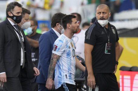 Brasil-Argentina, suspendido por protocolos COVID