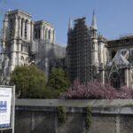 Estabilizan catedral de Notre Dame; sigue la reconstrucción
