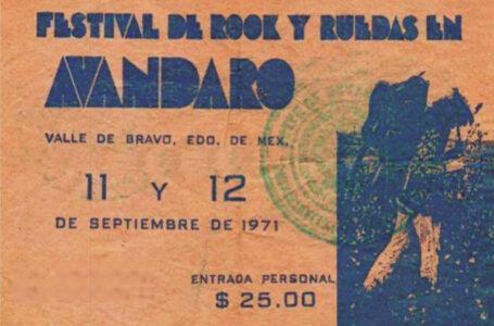 Avándaro, el Woodstock mexicano, llega a su 50 aniversario